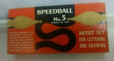 SPEEDBALL No. 5 PEN INK ARTIST CALLIGRAPHY SET in BOX