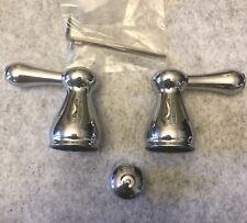 Delta Faucet H278 Leland Two Metal Lever Handle Kit Chrome
