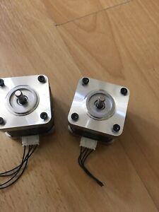 Schrittmotoren Set 2 Stück NMB-MAT  für portalfräse CNC 3d Drucker