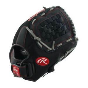 RAWLINGS Renegade R140BGS 14 INCH ~ Adult Leather Black Baseball Softball Glove
