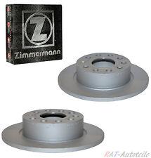 2xZimmermann Bremsscheim Hinten VW SCIROCCO (137, 138) 1.4 TSI 118KW 160 PS
