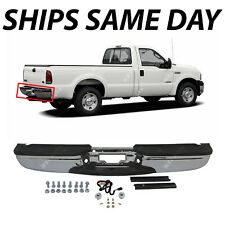 NEW Chrome - Rear Step Bumper Assembly for 1999-2007 Ford F250 F350 Super Duty