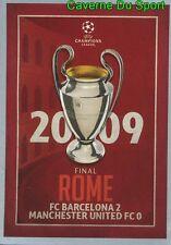 601 FINAL 2008 FC.BARCELONA MANCHESTER STICKER CHAMPIONS LEAGUE 2016 TOPPS