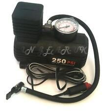 portable mini compressor pump 12v cigarette plug car tire inflator adapters air