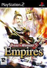 dynasty warriors 5 empires für pal ps2 (neu & versiegelt)