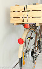 BIKE STORAGE CRATE BICYCLE WOODEN TIMBER CARRY PINE BOX
