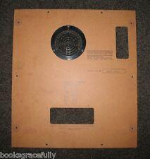 AKAI 1800D-SS Reel Deck Quadraphonic 1800 D SS REPAIR PART - Rear Wood Panel