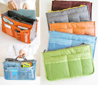 Travel Insert Handbag Organiser Purse Large liner Organizer Tidy Bag
