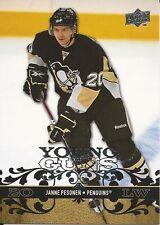2008-09 Upper Deck #488 Janne Pesonen Young Gungs Rookie Card