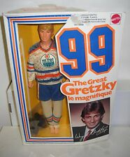 #6070 NRFB Mattel Wayne Gretzky - The Great Gretzky #99 - Hockey