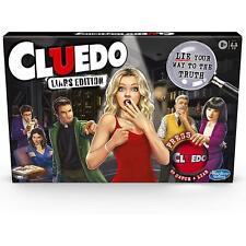 Hasbro Cluedo Juego de Mesa - Mentirosos Edición,Murder Mystery - 2-6 Jugadores