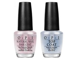 OPI Top Base Coat Natural Nail Polish Lacquer Vernis 15m Choose 3 Variations