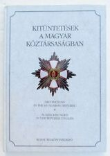 HUNGARIAN MEDALS & BADGES ILLUSTRATED REFERENCE BOOK