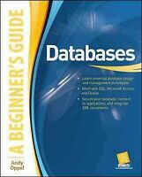 Databases, a Beginner's Guide, Paperback by Oppel, Andrew J., Brand New, Free...