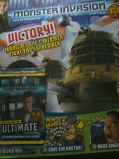 Doctor Who Monster Invasion magazine issue 35 ultimate Limited Edition Cards