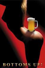 Cerveza: Bottoms Up-Maxi Póster de 61cm X 91.5cm (nuevo Y Sellado)