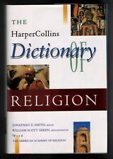 Harper-Collins  Dictionary of Religion -  Huge Guidebook - NEW   MINT  Gift Idea