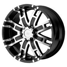 "Helo HE835 17x8 6x5.5"" +0mm Black/Machined Wheel Rim 17"" Inch"