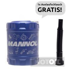 10W-60 Motoröl 10 Liter MANNOL Racing+Ester vollsynthetisch + Auslaufschlauch
