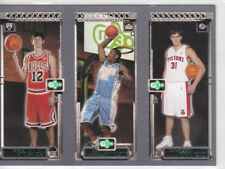 2003-04 Topps Rookie Matrix Kirk Hinrich Carmelo Anthony Darko Milicic RC