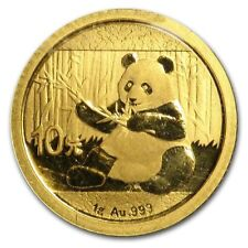 2017 China Gold Panda 1 Gram Coin In Original Mint Plastic Sealed (BU)