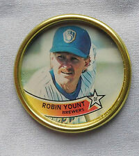 1989 Robin Yount Brewers Baseball Coin
