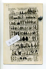PM Wilbraham MA Mass 1950 real photo RPPC postcard, list of figurines, for sale?