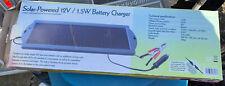 Maplin Solar-Powered 12V/1.5W Battery Charger VW / Camper / Van