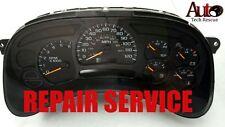 03 04 05 06 07 Chevy Silverado Instrument Cluster REPAIR SERVICE