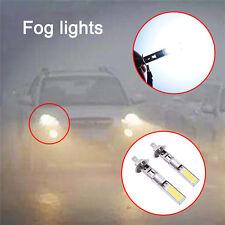 2Pcs H1 COB LED Bulb 10W High Power Car Front Fog Driving Lamp White Light 12V