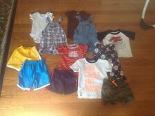 Huge Lot Of 12 Size 18 M Months Spring & Summers Outfits Gymboree Carters & More