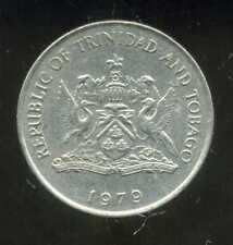 TRINIDAD ET TOBAGO    25  cents  1979  ( bis )