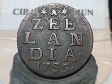 CIRA(71)(20) - PAYS BAS - ZEELANDIA - 1759 - QUALITE RARE POUR CE TYPE !!!