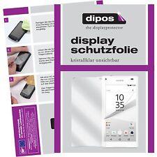 6x Sony Xperia Z5 Compact Protector de Pantalla protectores transparente