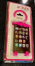 Bondi Hang it On Silicon Flexible Mount Smartphone Cell Phone Holder Pink