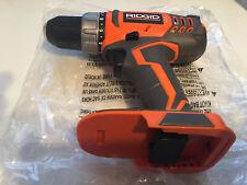 "New Ridgid R860052 18 Volt Lithium Ion 1,500 RPM Dual Speed 1/2"" Drill/Driver"
