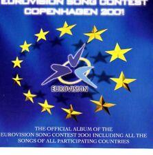 ESC CD Eurovision Song Contest Copenhagen Kopenhagen 2001