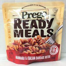 Prego Ready Meals Marinara & Italian Sausage Rotini 9 oz Microwave Meal