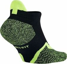 Nike Dri-Fit Elite No-Show Tennis Socks Style SX4987-011 Size L (8-12)