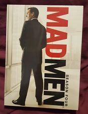 Mad Men: Season Four (DVD, 2011, 4-Disc Set) ~ BRAND NEW SEALED