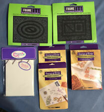 Huge Stamping Lot - Postcards, Greeting Cards & 2 Frame It Kits - New!