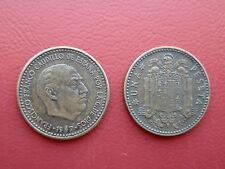 1 PESETA FRANCO 1947-48 BC ESPAÑA