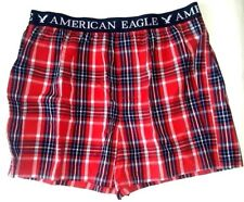 AEO MENS AMERICAN EAGLE OUTFITTERS 100% COTTON BOXER SHORTS SIZE XL 40-42