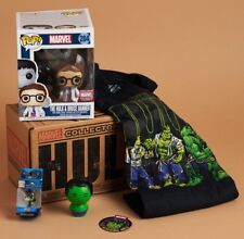 MARVEL COLLECTOR CORPS HULK - THE HULK & BRUCE BANNER FUNKO POP! - SIZE MEDIUM