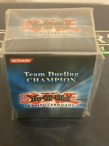 Yugioh GX Hobby Team Dueling Champion Deck Protector New Sealed