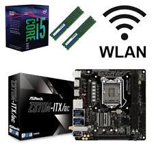 Bundle Intel Core i5 8600K 6x@4,30GHz+ASRock Z370 ITX/AC USB3.1+16GB RAM-WLAN