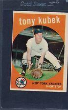 1959 Topps #505 Tony Kubek Yankees EX 59T505-42315-3