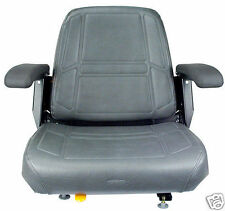CHARCOAL GRAY SEAT FITS BUNTON, BOBCAT, SNAPPER,TORO, EXMARK ZERO TURN MOWER #JV