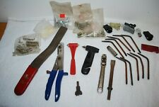 Job lot - garage tools 10 weld/brazing tips/tip cleaners/chisel/window hammers