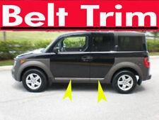 Honda ELEMENT CHROME SIDE BELT TRIM DOOR MOLDING 2003 04 05 06 07 08 09 10 2011